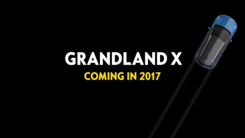 Opel Grandland X : le nouveau crossover compact arrive en 2017