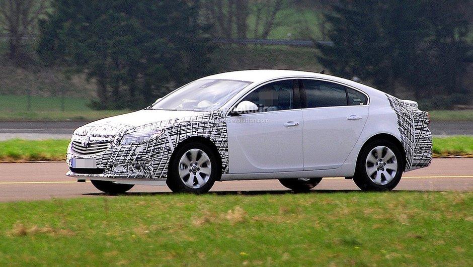 Scoop : Opel Insignia 2012, restylage à venir