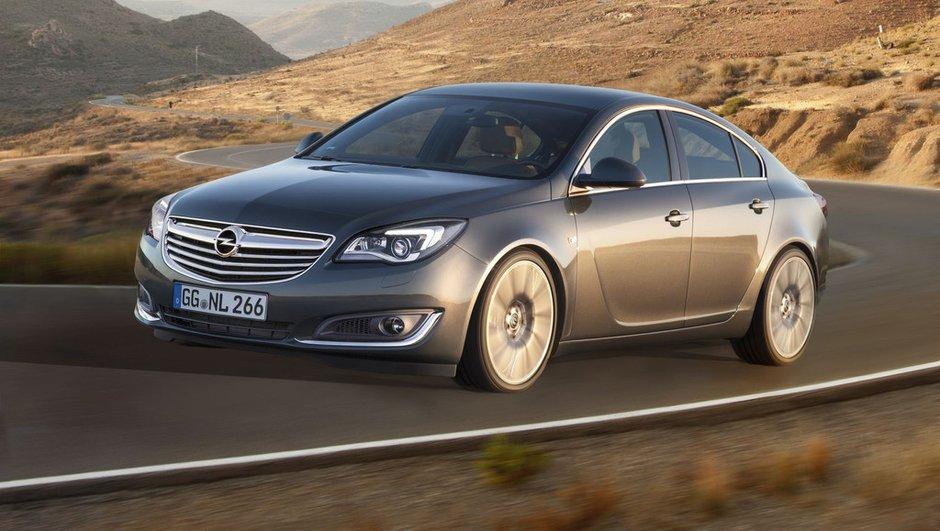 Salon de Francfort 2013 : Opel Insignia, retouches et nouveaux moteurs