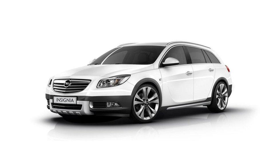 Opel Insignia Cross Four : nouveau break baroudeur