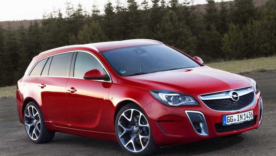 Opel Insignia OPC 2013 : 325 ch inchangés pour la version restylée