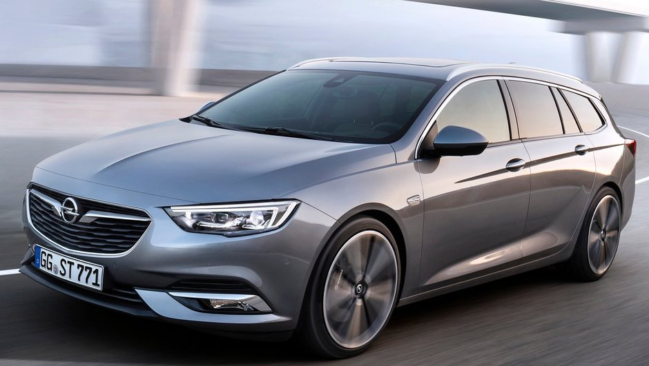 Opel Insignia Sports Tourer 2017 :  Un très grand break qui privilégie le style
