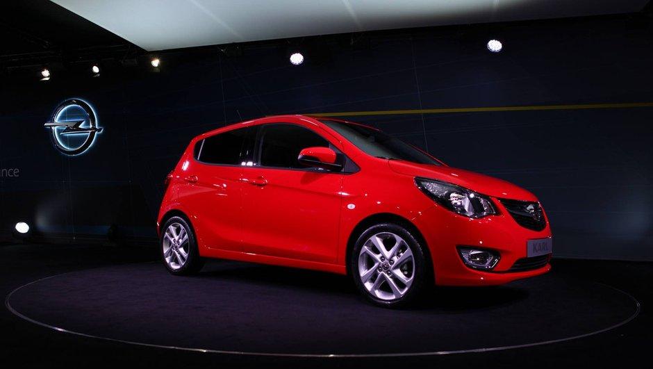 Salon de Genève 2015 : Opel Karl, la simplicité germanique