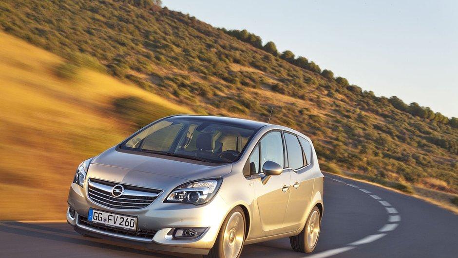 Opel Meriva 2014 : discrètes retouches et nouveau diesel