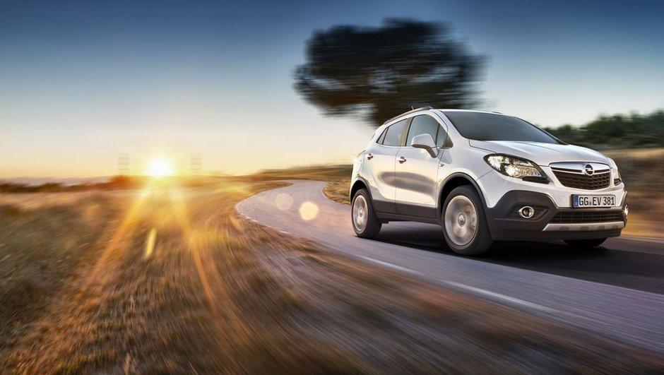 Salon de Genève 2012 : l'Opel Mokka en montre plus