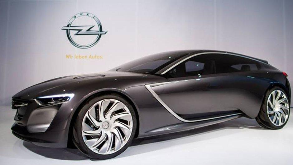 Salon de Francfort 2013 : Opel Monza concept, le manifeste du blitz