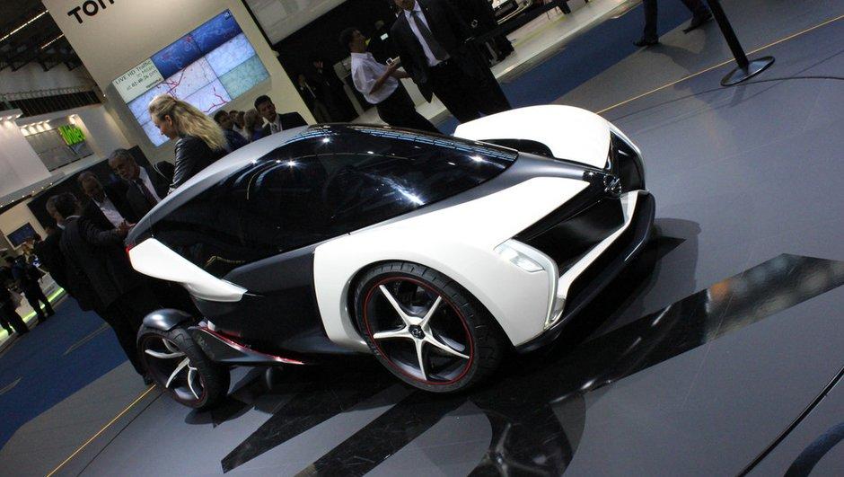 Salon de Francfort 2011 : Opel RAK e Concept, une urbaine futuriste