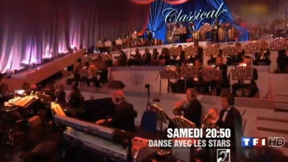 Un orchestre symphonique dans Danse Avec Les Stars !