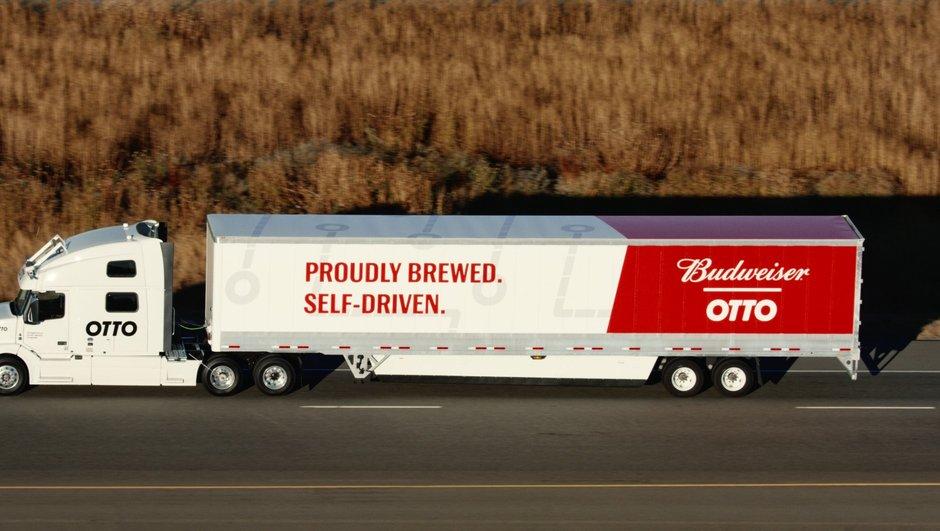 Otto : la première livraison effectuée par un camion 100% autonome
