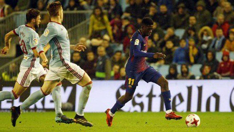 Ousmane Dembélé a rejoué avec le Barça