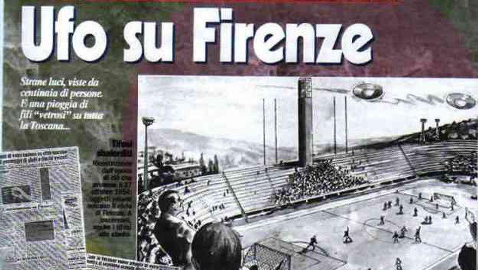 Mythes Téléfoot : Fiorentina-Pistoiese, le jour où un match a été arrêté à cause des ovnis