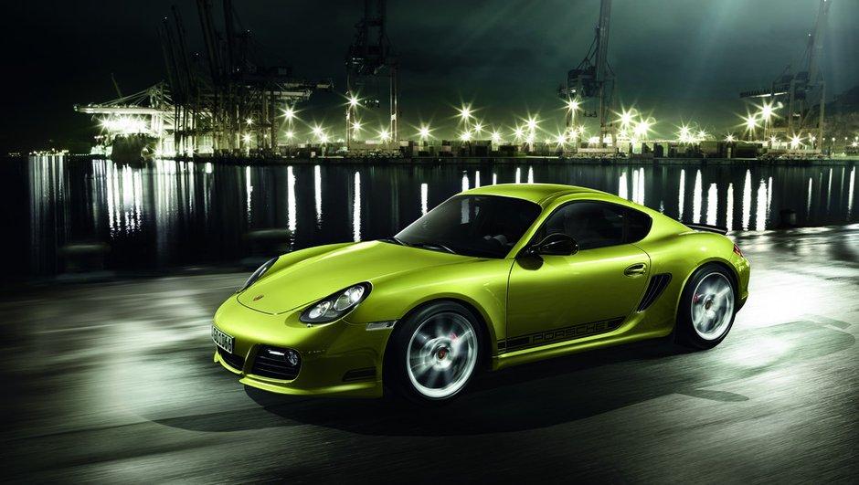 Porsche Cayman R, la version ultime présentée à Los Angeles