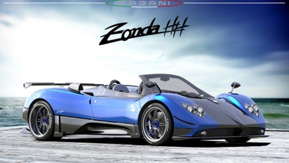 Mondial de l'Auto 2010 : Pagani Zonda HH, modèle ultime