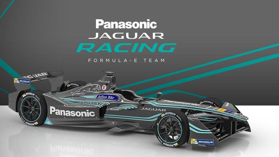 Formule E : Jaguar dévoile sa livrée et ses pilotes