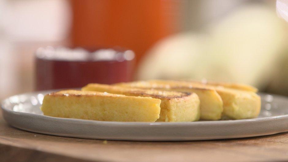 Panisse ou socca aux maïs frais