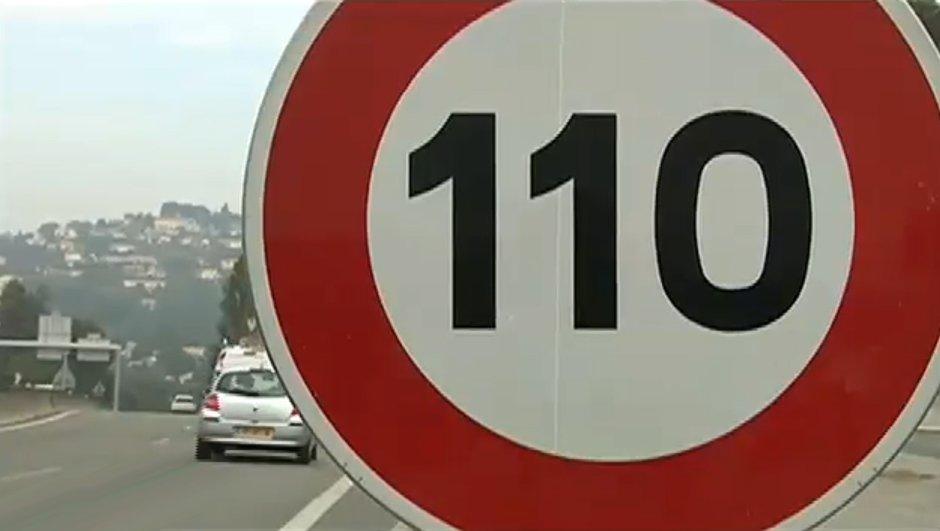 Au tour des autoroutes en Lorraine d'être limitées à 110 km/h !