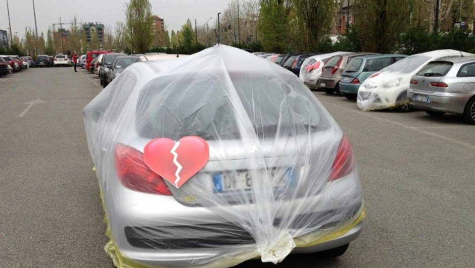 FIAT : Un Parking Marketing audacieux !