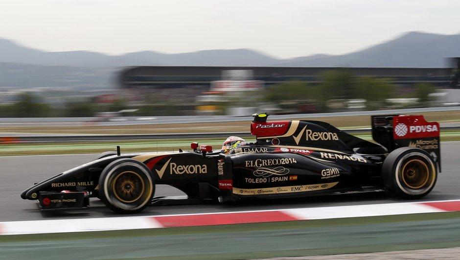F1 - Essais Barcelone 2014 : Maldonado meilleur chrono