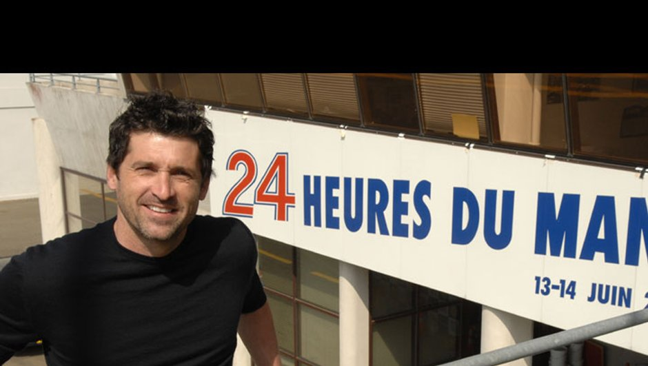 """Patrick Dempsey aux 24 heures du Mans pour l'association française """"Mécénat Chirurgie cardiaque"""""""