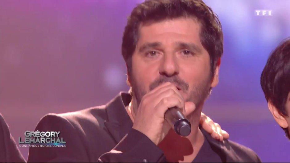 """Patrick Fiori interprète """"Pour mieux s'aimer"""", la dernière chanson de Grégory Lemarchal"""