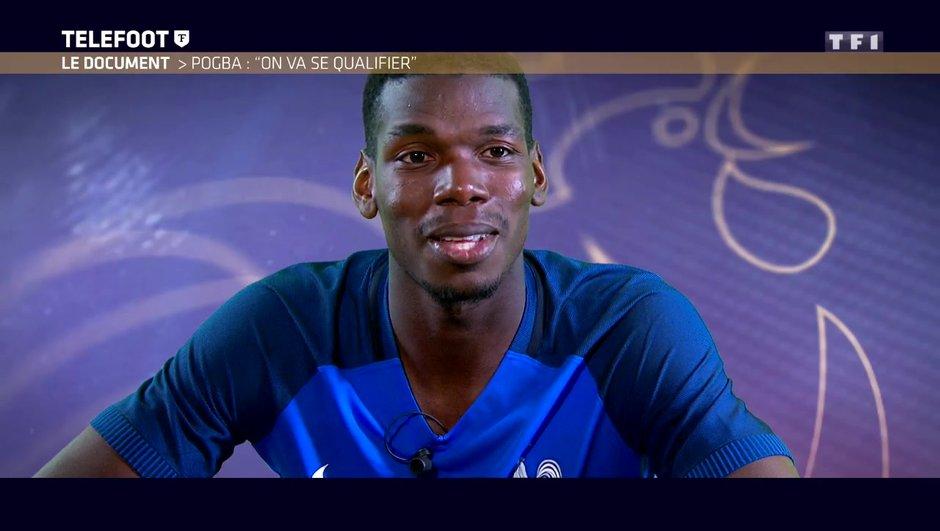 """[Exclu Téléfoot 25/06] - Le Document - Pogba : """"La qualification pour la Coupe du monde ? Il ne faut pas être inquiet"""""""