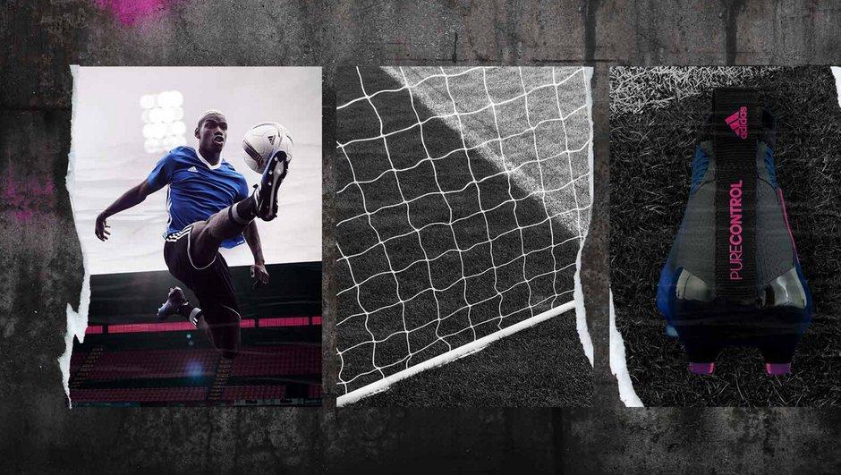 Adidas lance sa collection Blue Blast avec Paul Pogba
