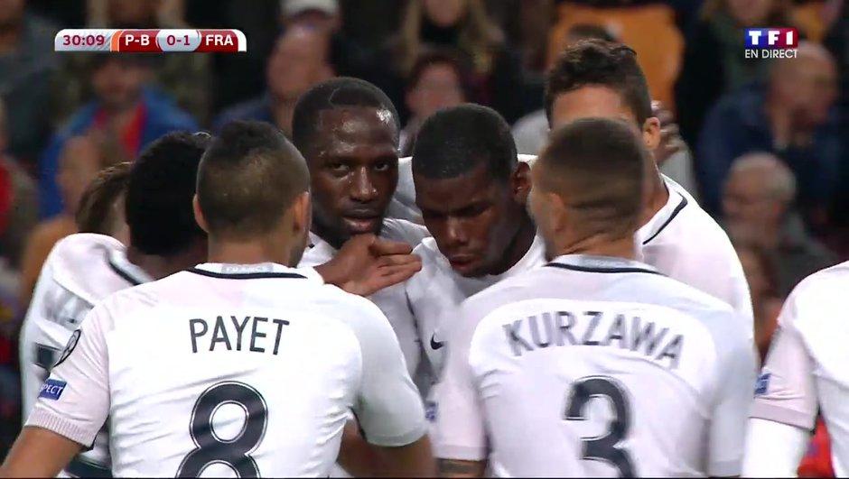Pays-Bas - France : Ouverture du score sur une frappe de Pogba ! (0-1)