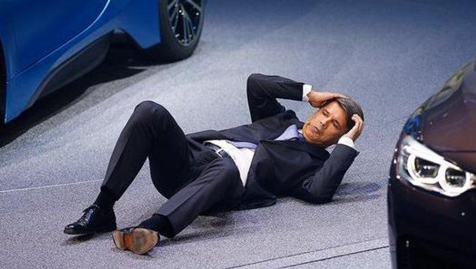 Salon de Francfort 2015 : le PDG de BMW victime d'un malaise en conférence de presse