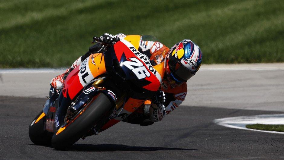 MotoGP - Essais Brno 2012 : Pedrosa devant Lorenzo