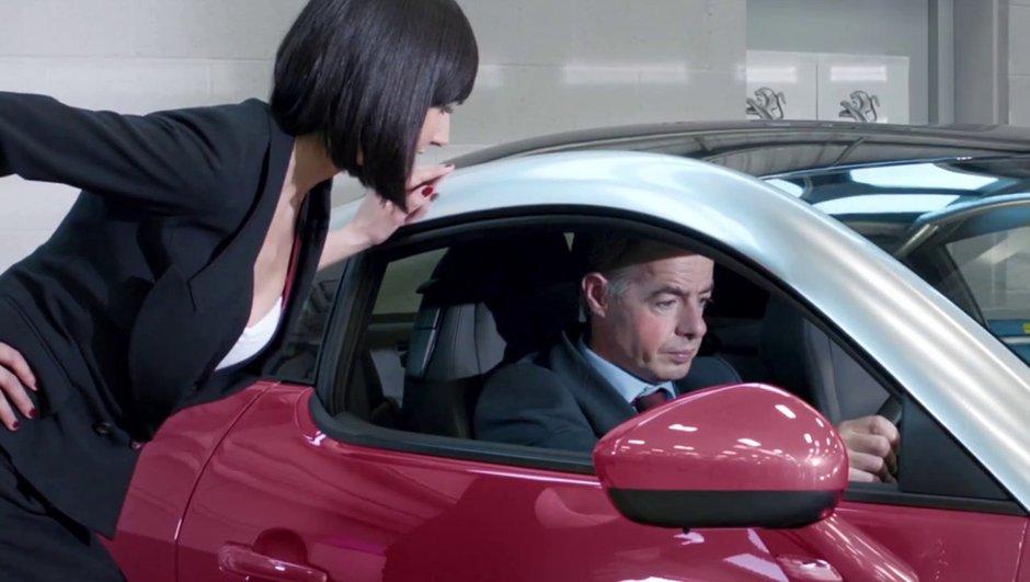 Insolite : une peinture Peugeot RCZ changeant selon l'humeur ?