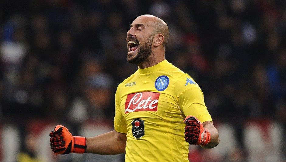 Naples-Inter Milan : L'incroyable parade de Pepe Reina