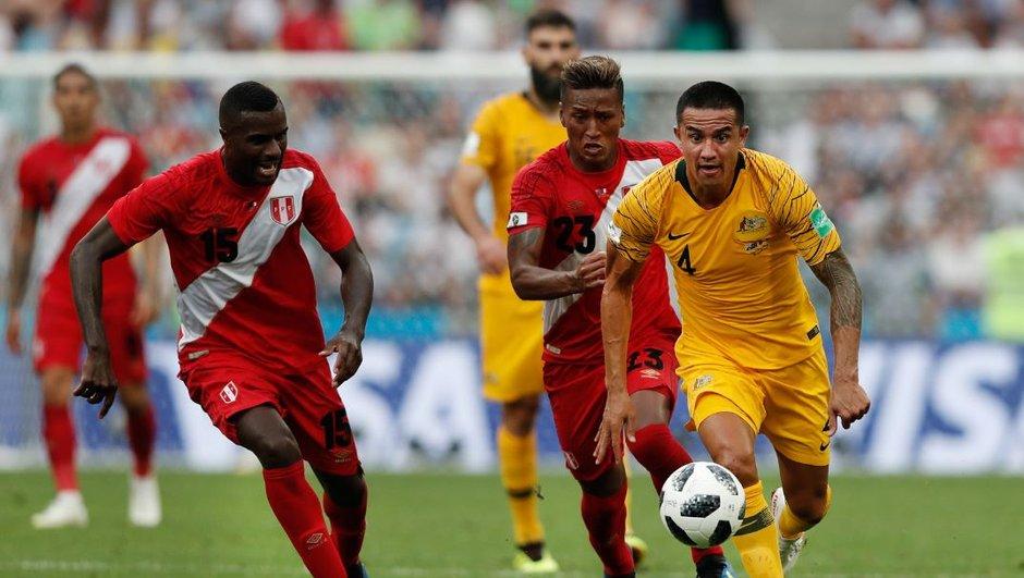 Australie-Pérou (0-2) : le match en un coup d'œil