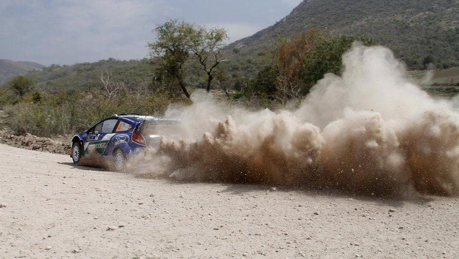 WRC - Rallye du Mexique : avantage Solberg à la veille des hostilités