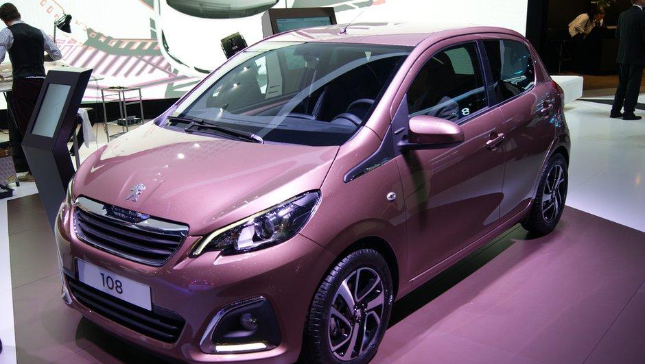 Salon de Genève 2014 : la Peugeot 108 se plie en trois