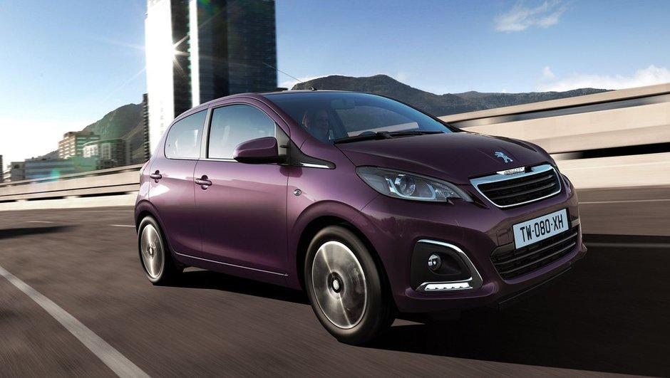 Nouvelle Peugeot 108 2014 : des prix à partir de 10.150 euros