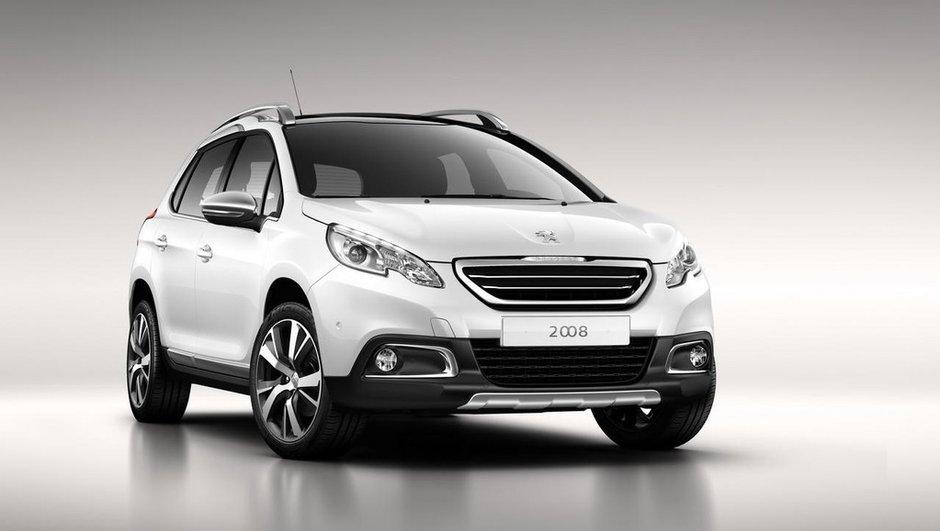Peugeot 2008 : premières photos officielles !