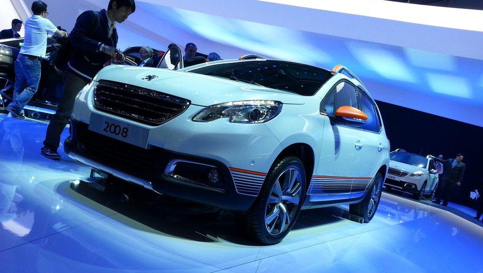 Salon de Genève 2013 - Live : Peugeot 2008, le crossover urbain