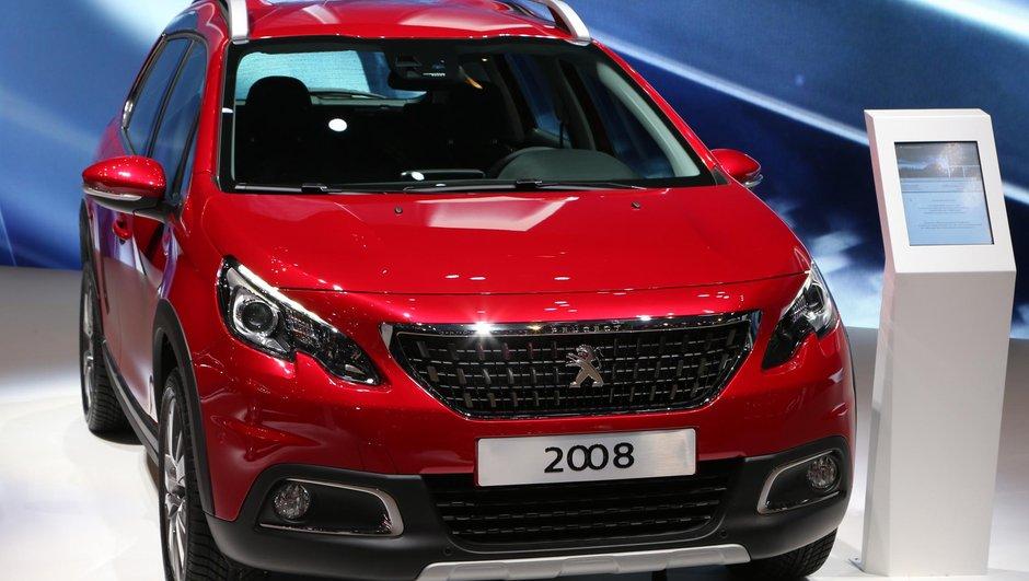 Salon Genève 2016 : Peugeot 2008, le changement tout en douceur