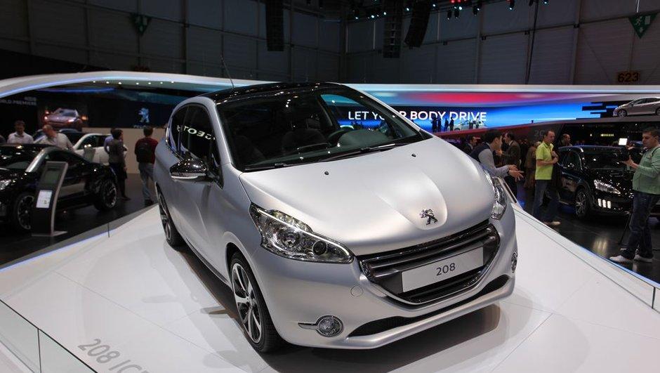 Salon de Genève 2012 : La Peugeot 208 marque son lancement