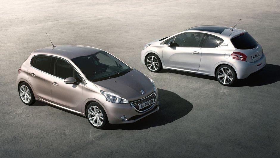Peugeot 208 candidate à la Plus Belle Voiture de l'Année 2011