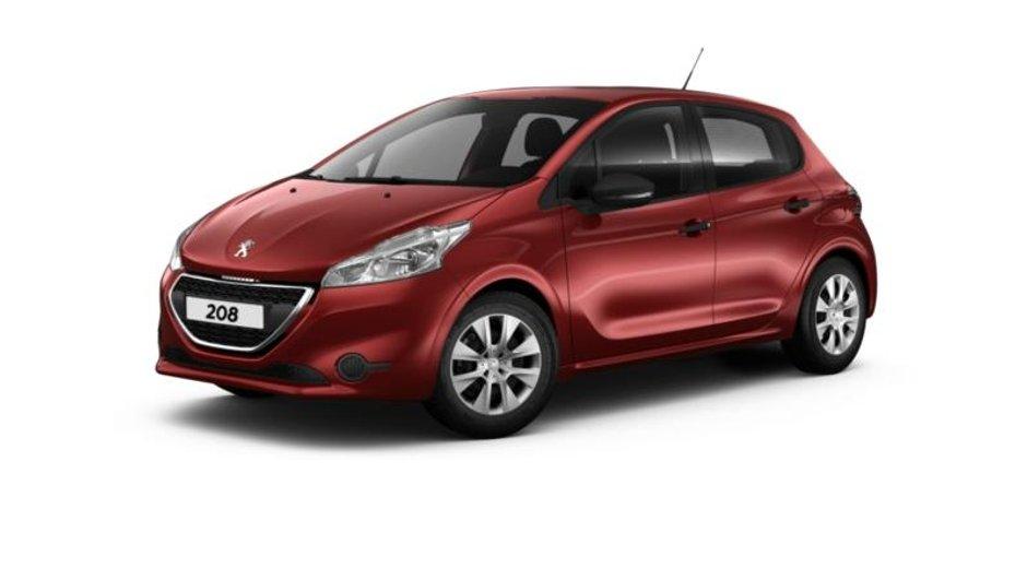 Peugeot 208 : le configurateur en ligne