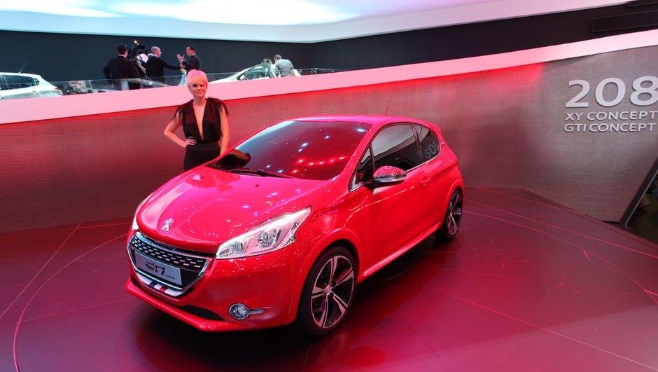 Salon de Genève 2012 : Peugeot 208 GTi Concept, bombe nostalgique