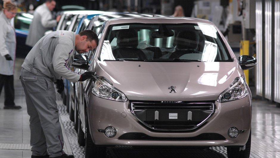 PSA Peugeot Citroën : 400 postes d'intérimaires supprimés à Poissy