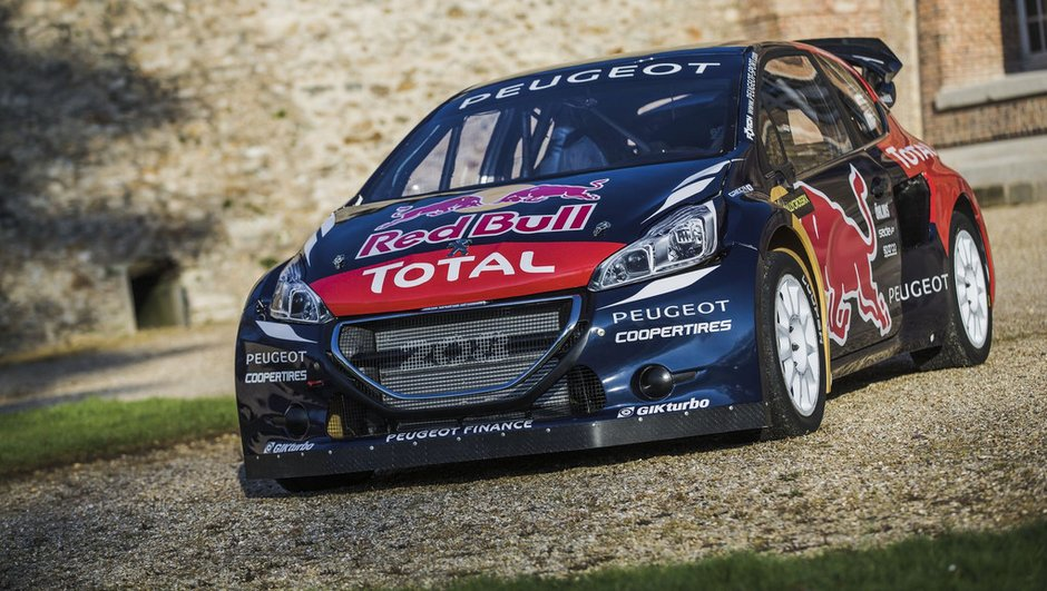 Rallycross 2015 : la nouvelle Peugeot 208 WRX vise le titre