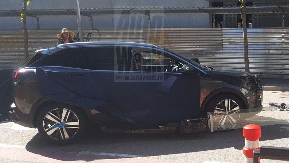 Futur Peugeot 3008 2016 : nouvelle photo scoop !