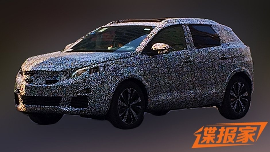 Futur Peugeot 3008 II : nouvelle photo scoop en Chine