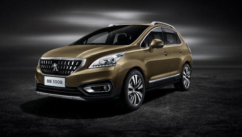 Salon de Pékin 2016 : Peugeot 3008, le SUV français en première mondiale