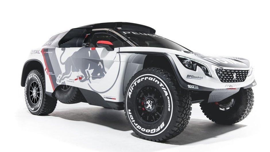 Dakar 2017 : Peugeot dévoile sa 3008 DKR