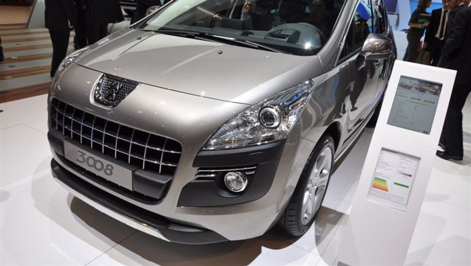 Genève 2009 : Les nouveautés Peugeot
