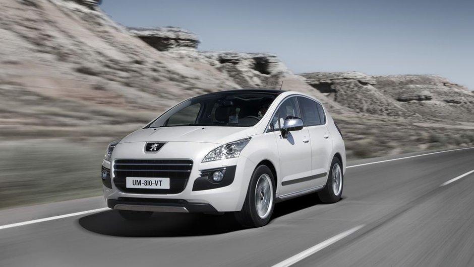 Mondial de l'Auto 2010 : Peugeot 3008 Hybrid4